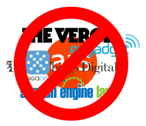 Just Say No to Blogs