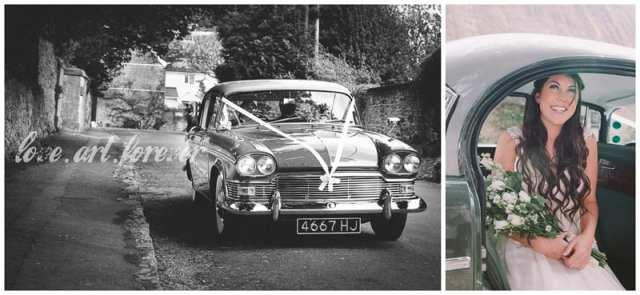 Wiltshire Wedding Car Photography