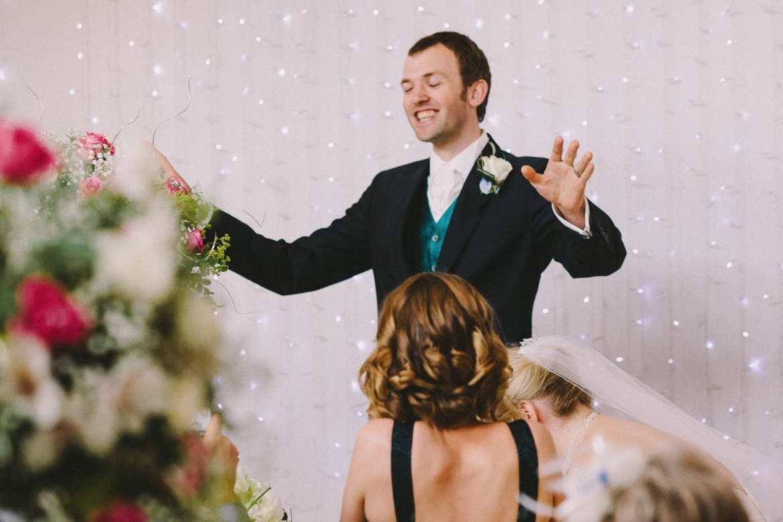The groom's speech