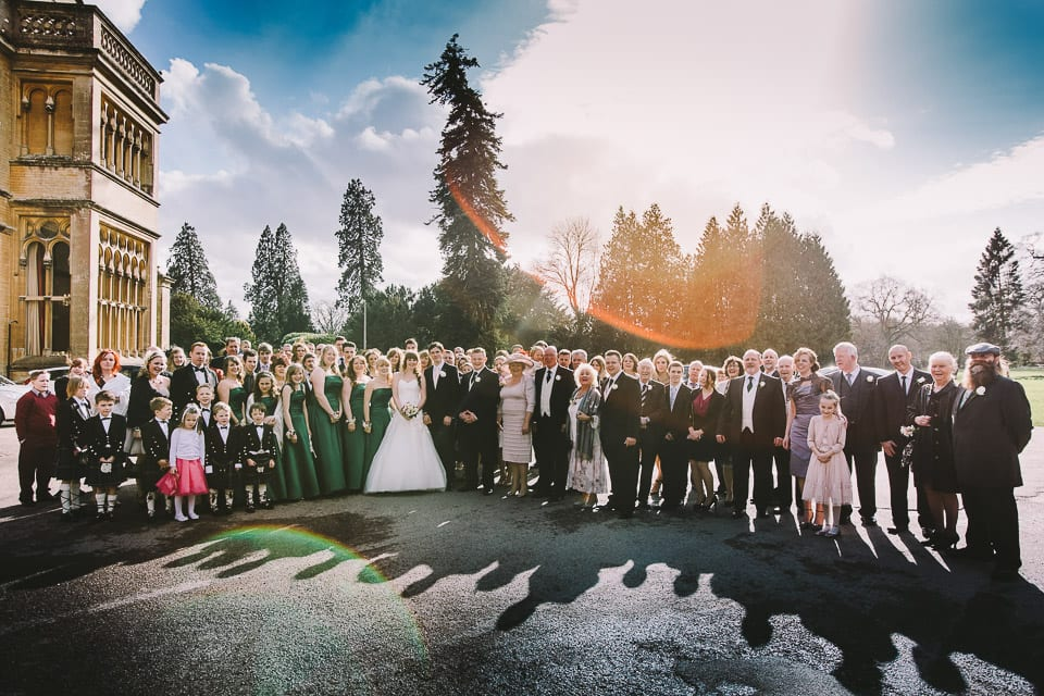 Wedding photography at Grittleton House