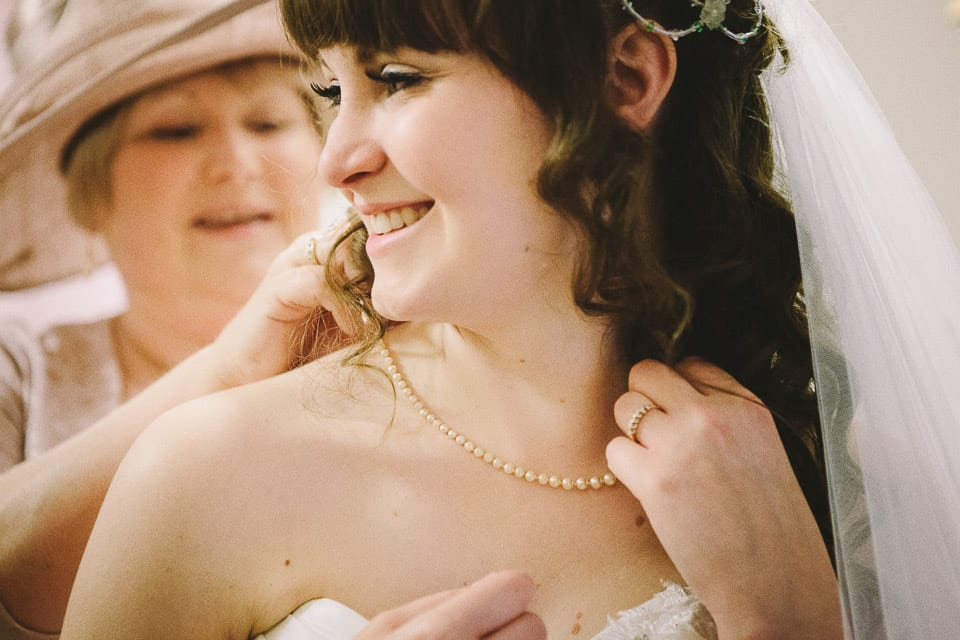 Bride and mother at Grittleton House
