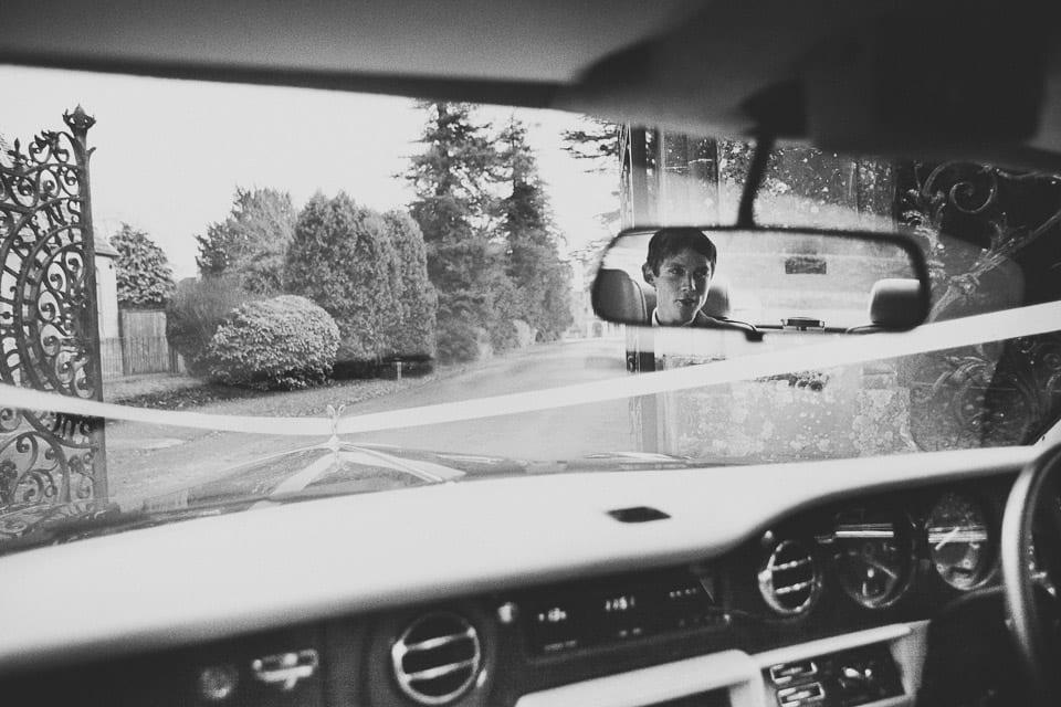 Groom in Rolls Royce