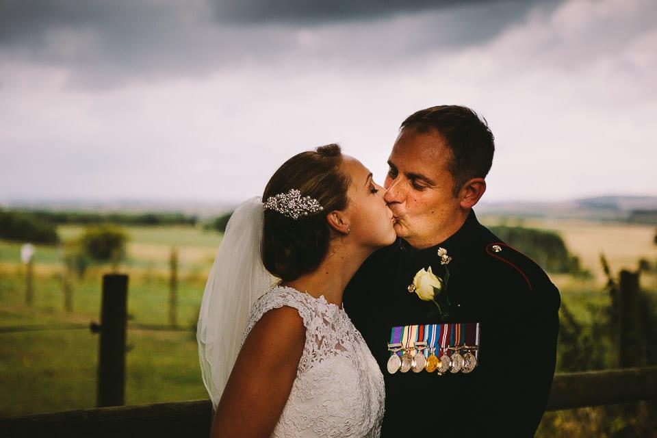 Military wedding