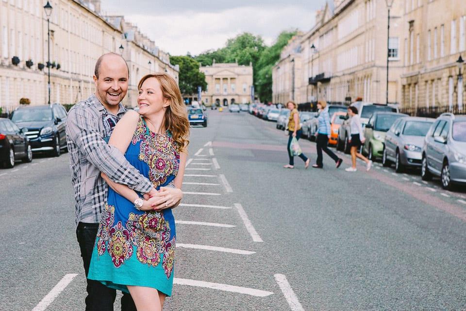 Engagement in Bath