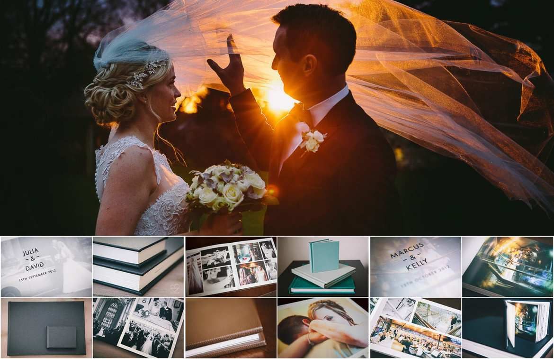 Example wedding albums