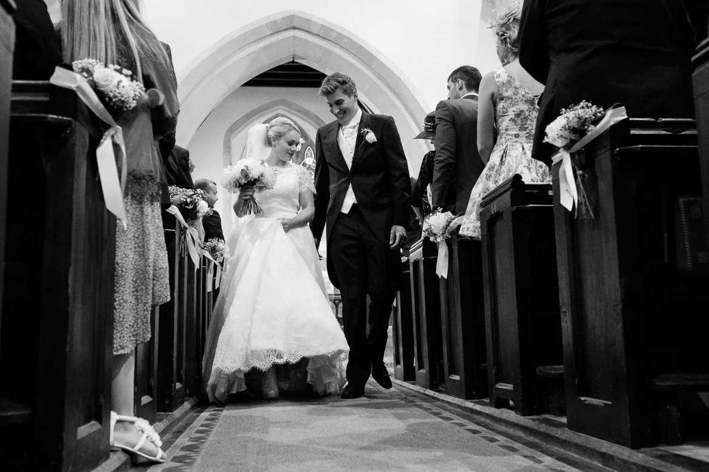 The bridal recession