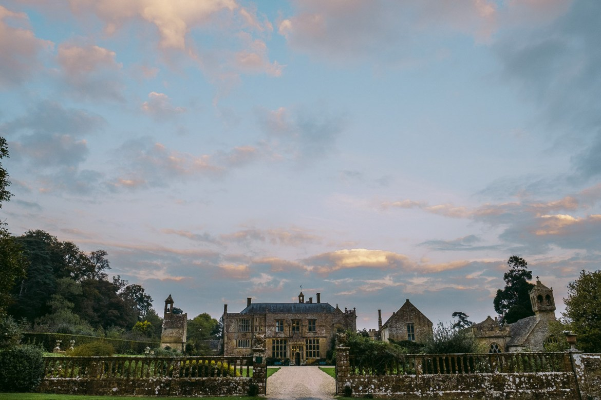Brympton House at Sunset