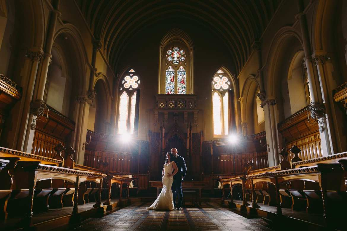 A bridal portrait in the Great Callow Hall