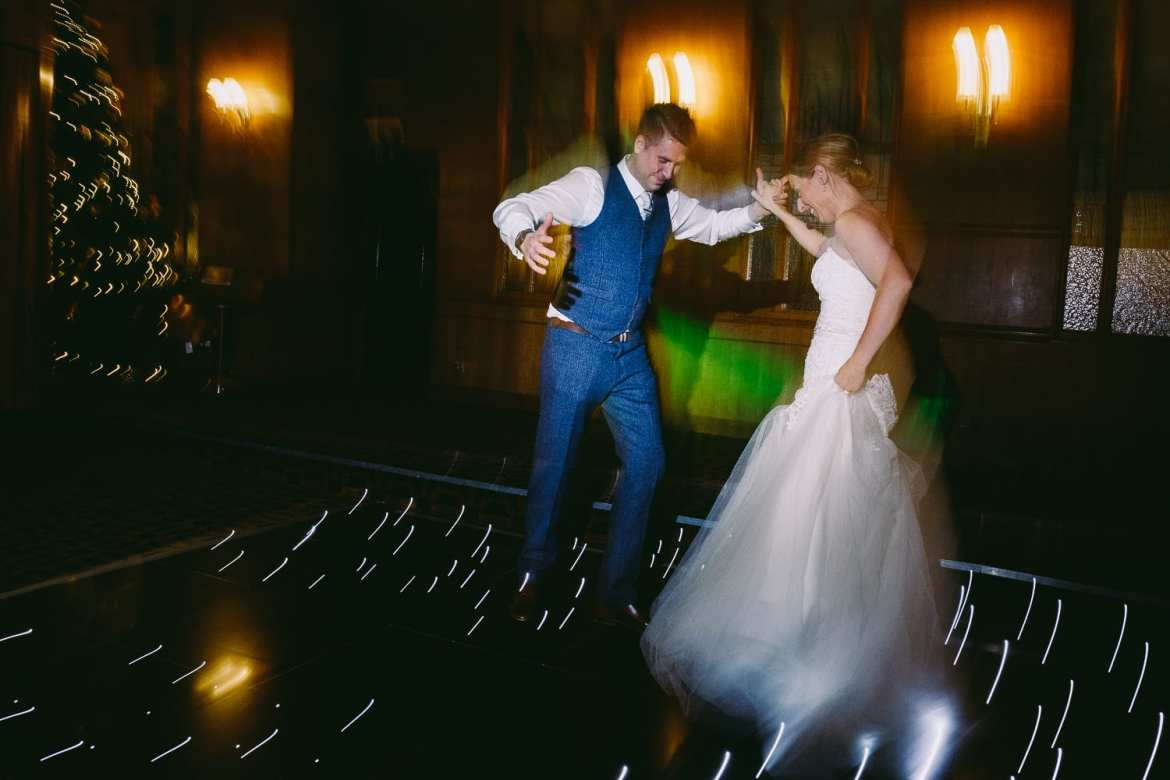 The first dance at the Vermont