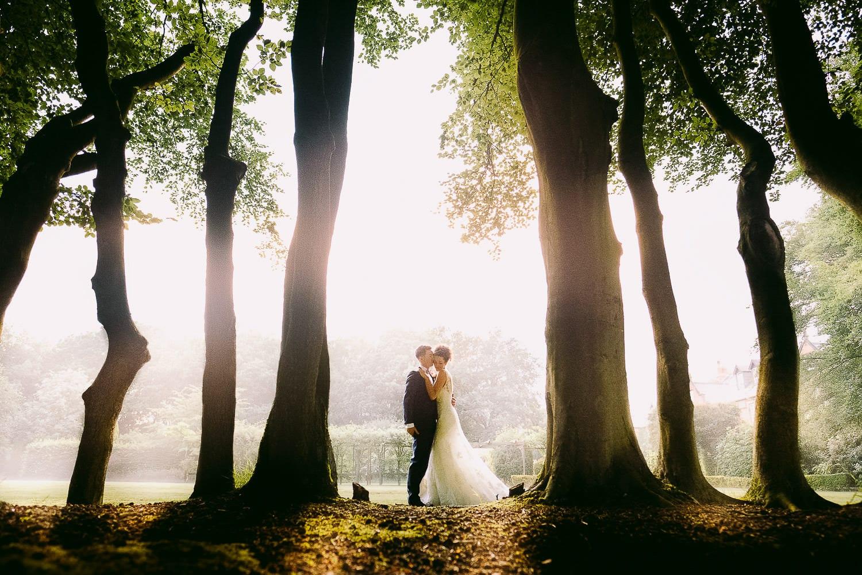 Wedding photography at Nunsmere Hall