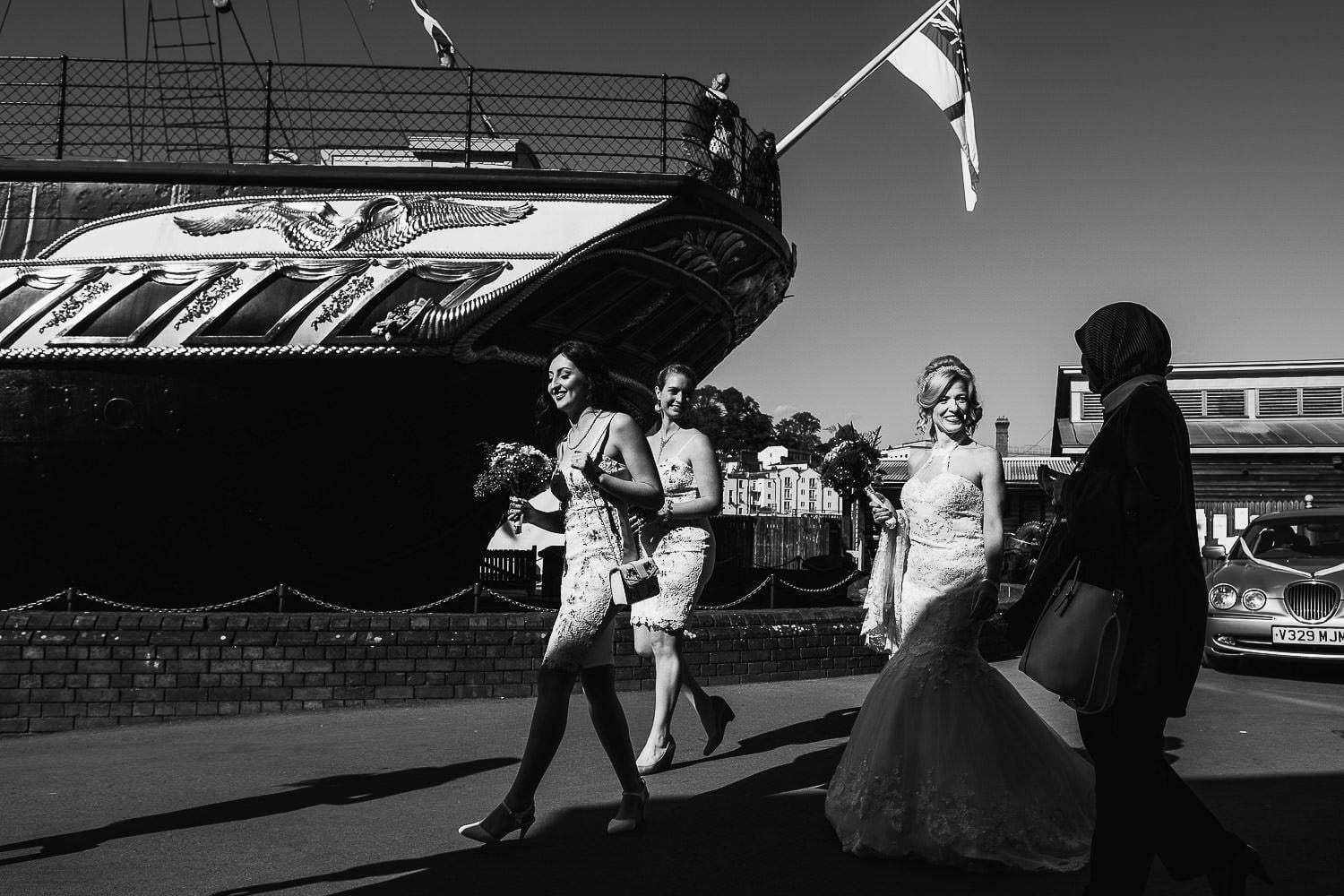 Wedding on The SS Great Britain