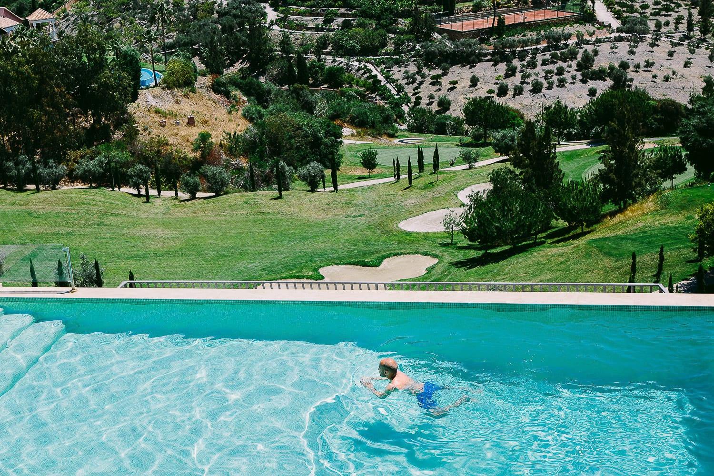 A destination wedding in Marbella