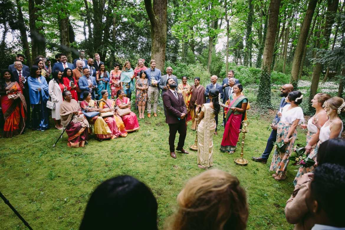 a wedding in the woods at matara