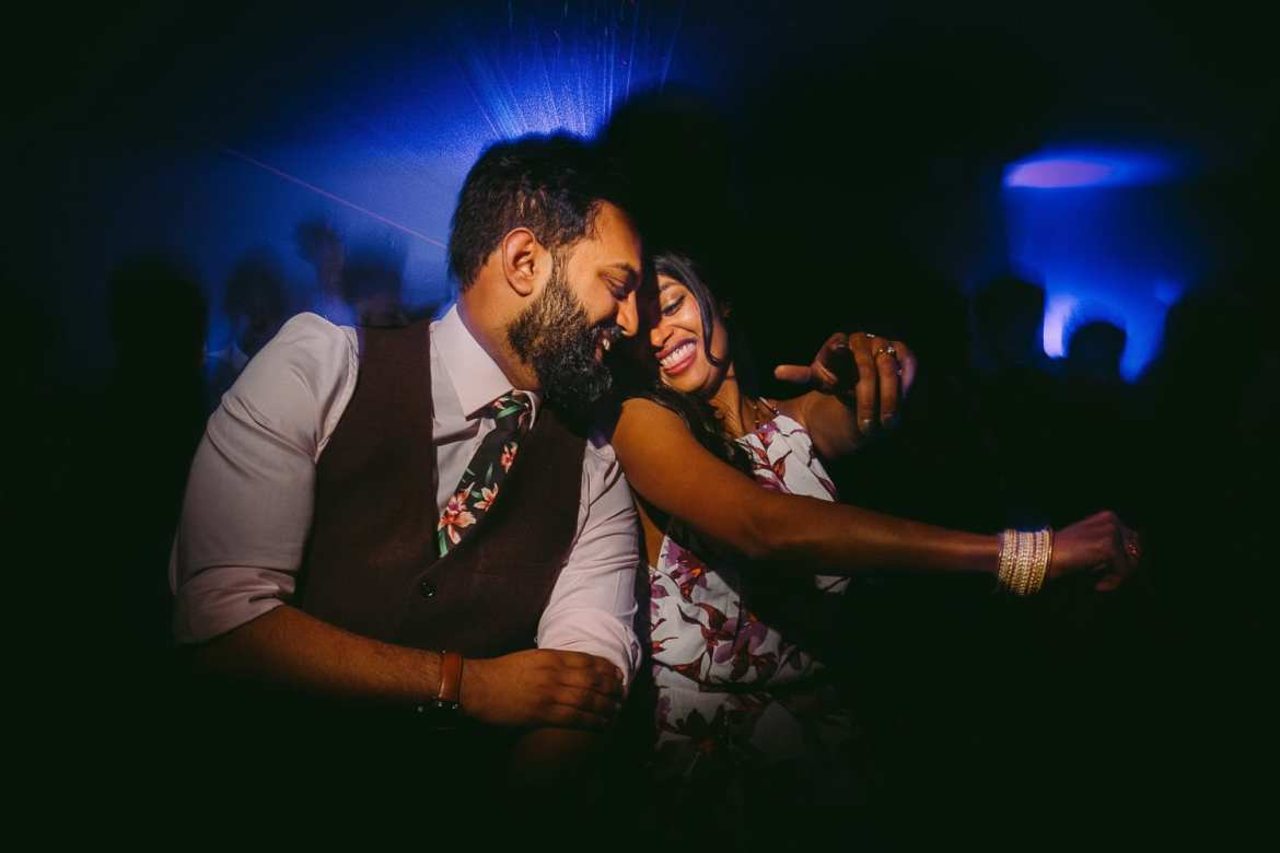 Bride and Groom dance at Matara