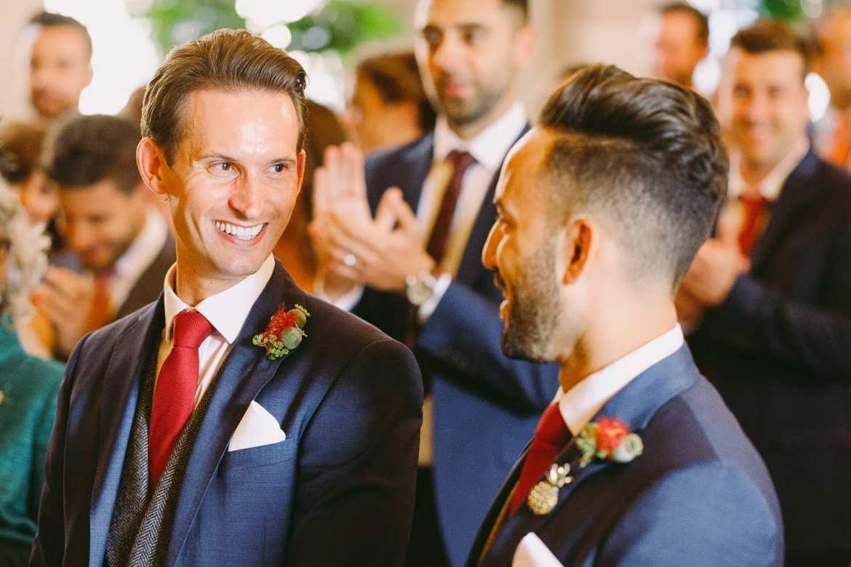 Same sex wedding at Berkeley Castle