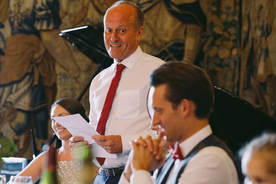 The father of the groom's speech