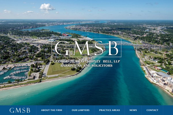 George Murray Shipley Bell, LLP Website Cover