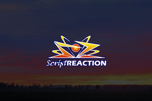 Script Reaction Logo Cover