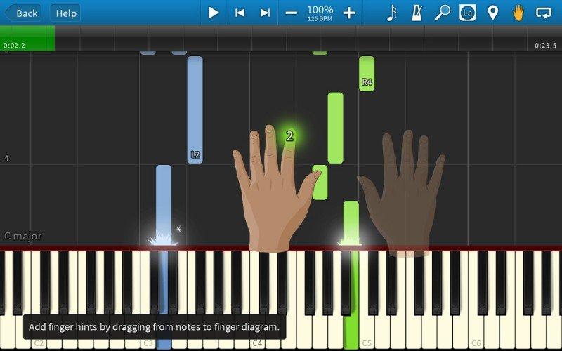 Aprenda a tocar piano e teclado com synthesia