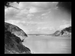 Hudson River with Storm King on left Break Neck on right, ca. 1922