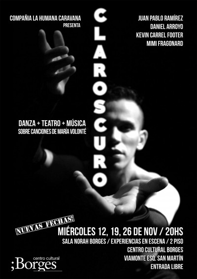 Claroscuro – New Dates Added!