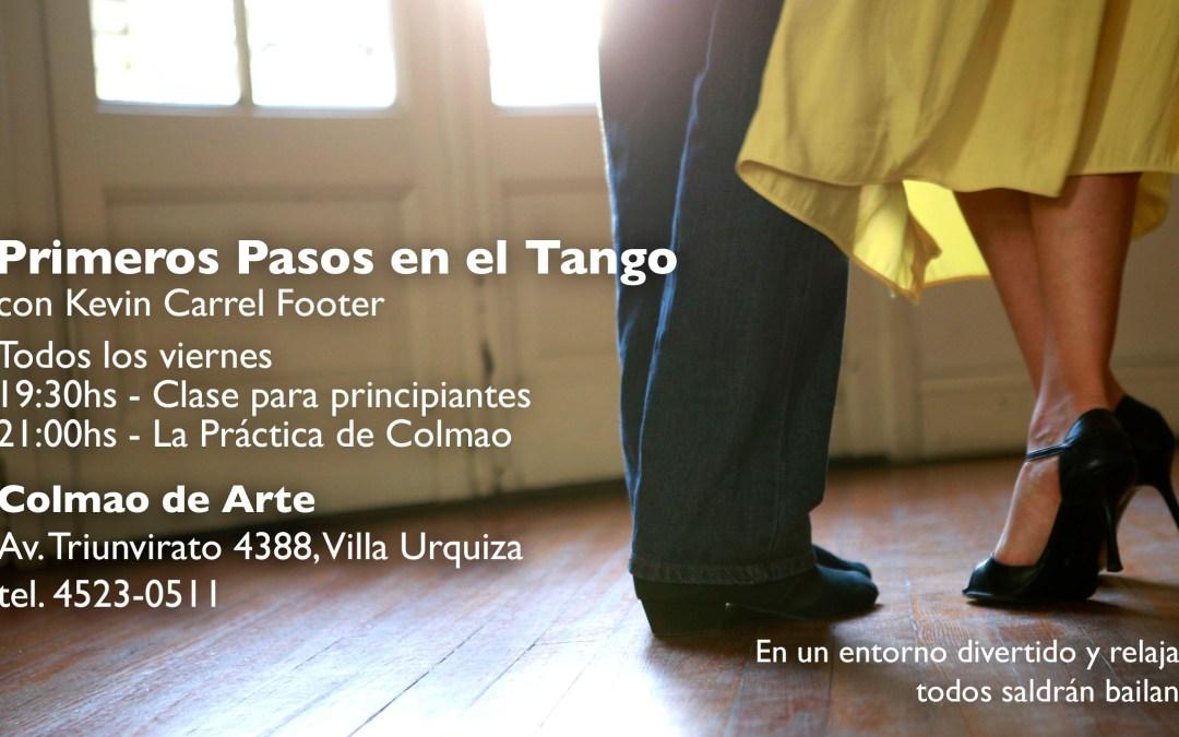 Primeros Pasos en el Tango