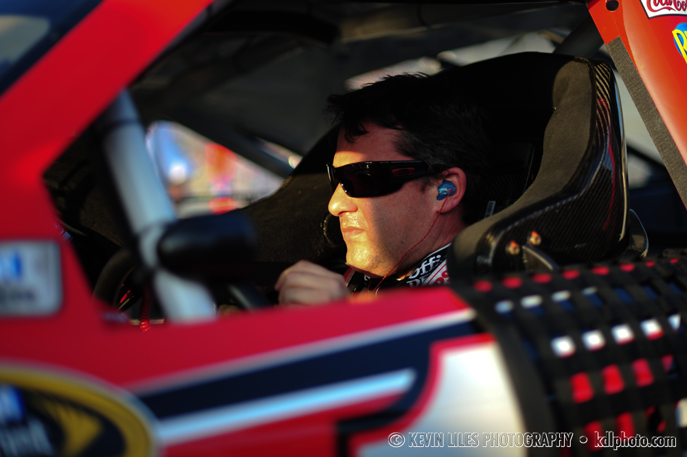 NASCAR Sprint Cup Series driver Tony Stewart during qualifying for the AdvoCare 500 at Atlanta Motor Speedway.