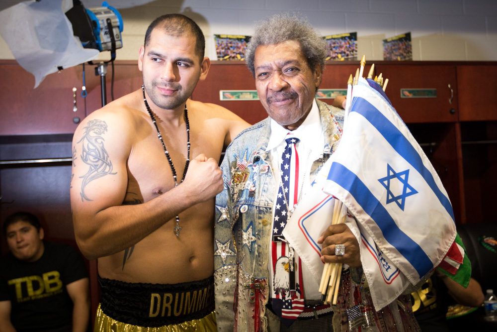 Don King and Eric Molina