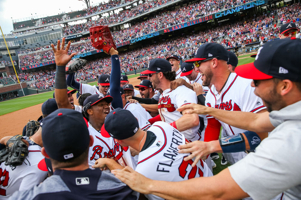 Braves NL East clinch