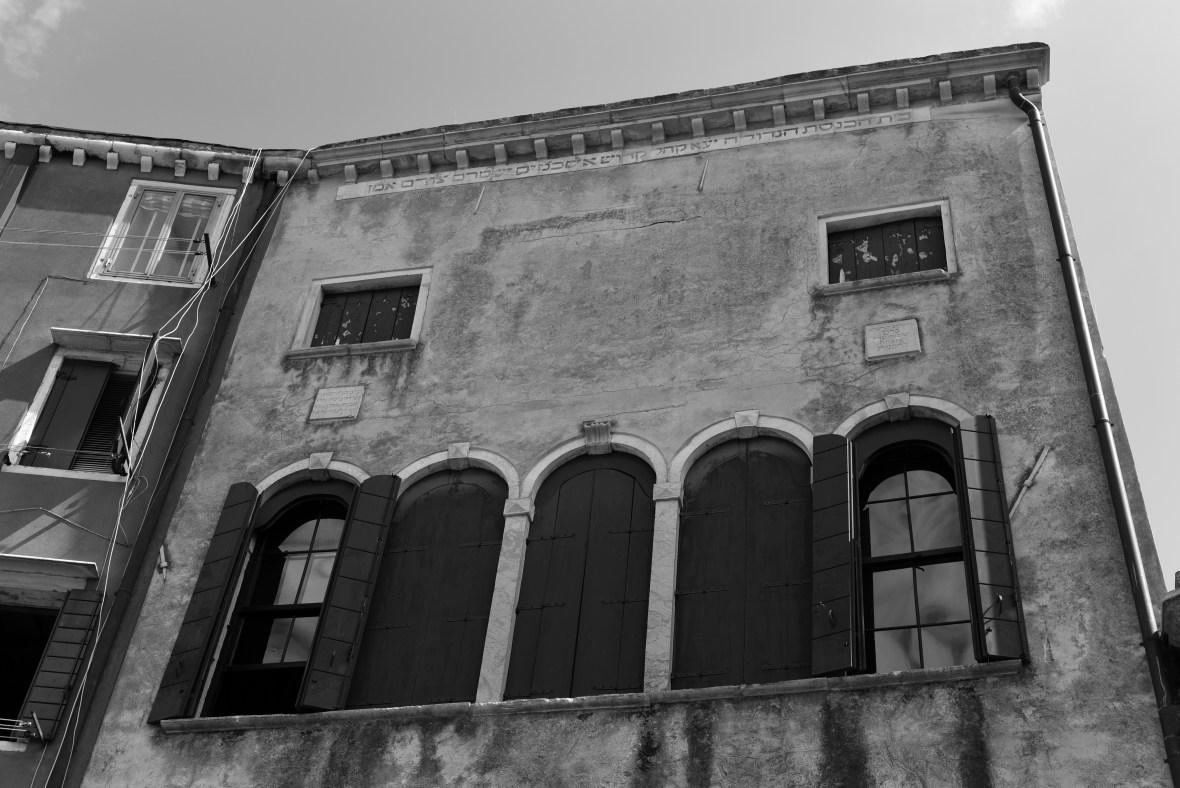 In the Jewish Ghetto, Venice.