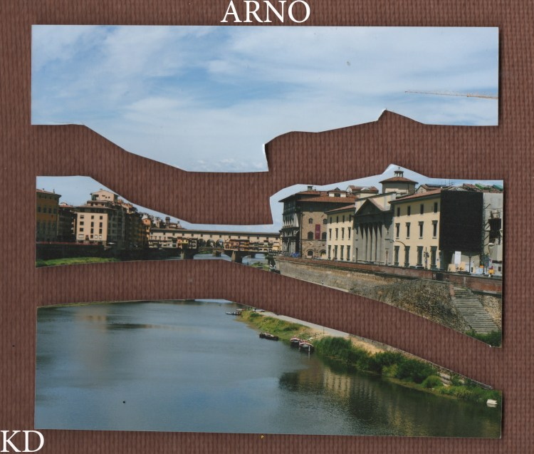 'Arno', Photographic cut-out. 3.2