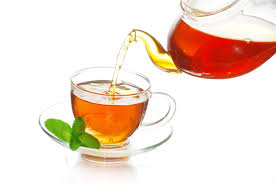 This is not tea, this is a picture of tea