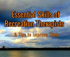 Title image Skills of Recreation Therapists
