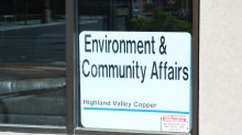Voght street Office of a local mine benifiting from new Hydro infrastructure. File Photo KDG