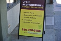 alternate treatment, Acupuncture