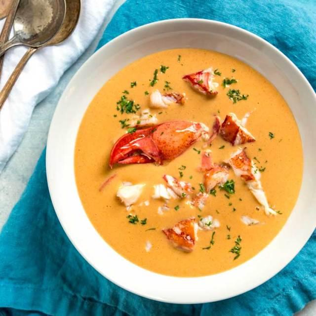 Image result for lobster bisque