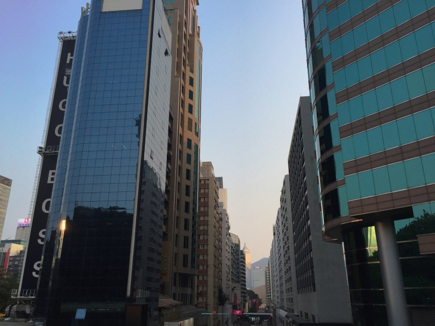 Canton road is one of the many iconic roads in Hong Kong in which it'well developed as with great view sliver the busting life of Hong Kong..