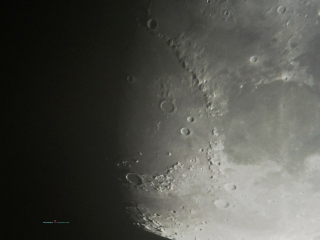 Mare Imbrium in company with the crater Archimedes..