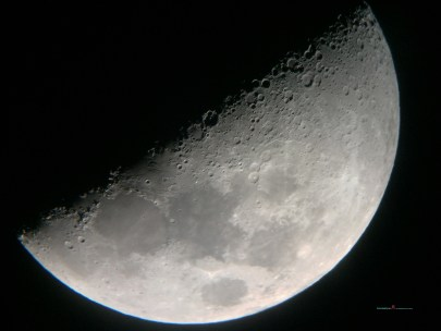 This is know to be the first quarter in which the moon is fifty percent waxing gibbous.....