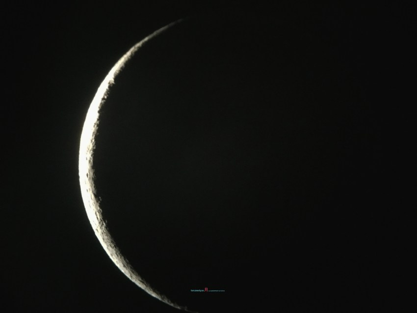 only two nights ago from the new moon..