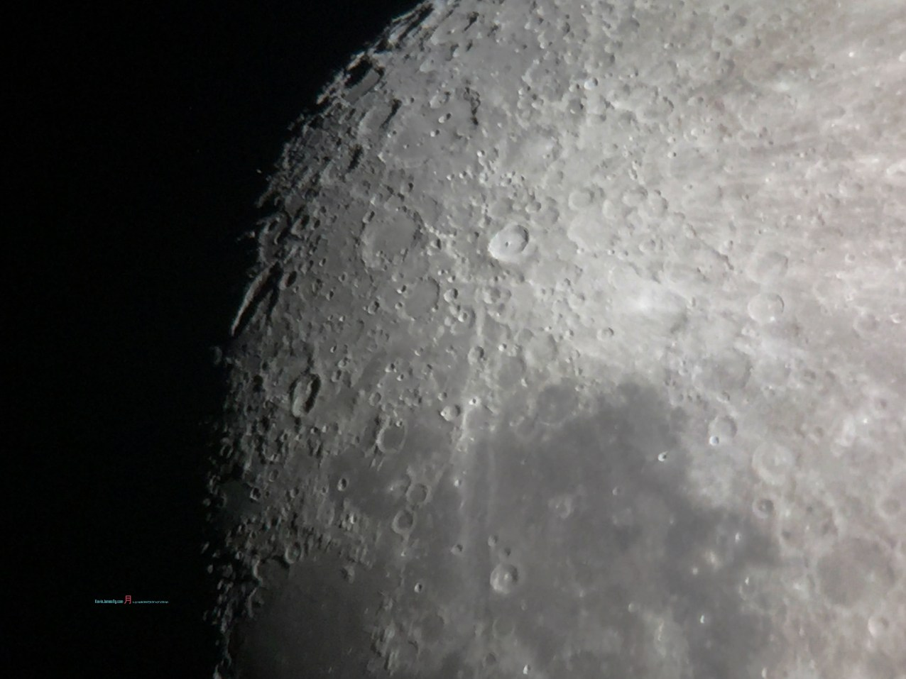 The Crater Tycho..