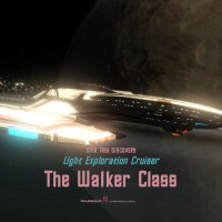 #STARTREKONLINE | #StarTrekDiscovery - The #WalkerClass- The tier six light Exploration Cruiser- the other girl whom taught you....