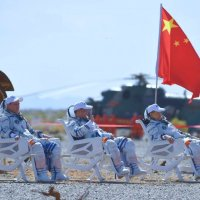 #CNSA #ChinaNationalSpaceAdministration #国家航天局 |#BeltAndRoadinitiative #September2021| #CMS #ChinaMannedSpace The crew of #Shenzhou12 departs after a three month stay from their second home The International Iconic #CSS #ChinaSpaceStation #TianheCoreModule ….