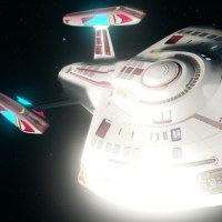 #星際迷航在線 #StarTrekOnline | #OOTD #OOTDStarTrekStarships #蒸汽機 #October2021 |#Nova #RhodeIsland #Remastered #ScienceVessel #ExplorationCruiser Briefly introduction ….