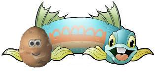 two headed fish and potato.jpg