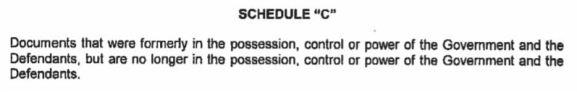 Schedule A