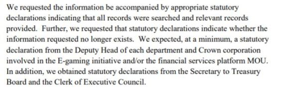 Statutory Declarations