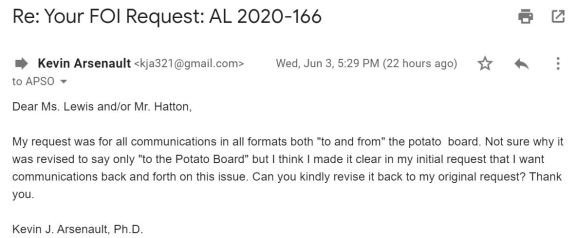 June 3 Response
