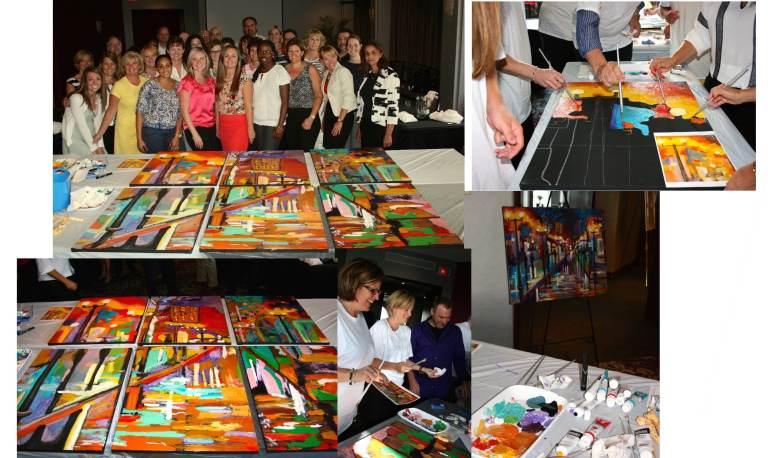 Corporate Creative Event ABB Group