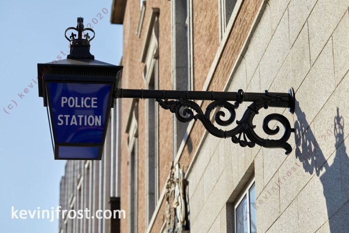 Hammersmith Police Station.